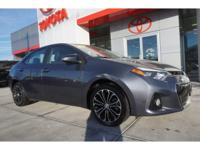 CARFAX One-Owner. LEATHER TRIMMED SEATS, MOONROOF,