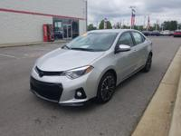 This 2016 Toyota Corolla S Premium is offered to you