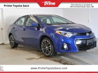 CARFAX One-Owner! Toyota Certified! 2016 Toyota Corolla