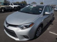 Recent Arrival! 2016 Toyota Corolla LECARFAX One-Owner.