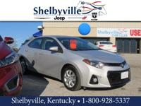 CARFAX One-Owner. Clean CARFAX. 2016 Toyota Corolla L