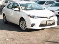 New Price! Certified. 2016 Toyota Corolla LE Super