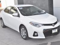 CARFAX One-Owner. Clean CARFAX. Super White 2016 Toyota