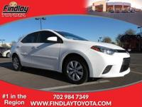 CARFAX 1-Owner, Dealer Certified. LE trim. Bluetooth,