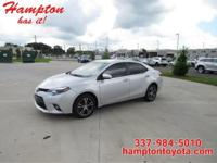 This 2016 Toyota Corolla LE Plus is proudly offered by