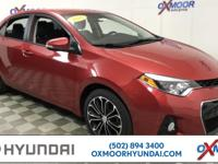 Toyota Corolla S Priced below KBB Fair Purchase Price!