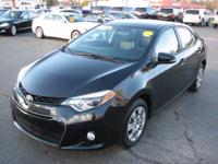 The Toyota Corolla is a mid sized sedan. Some specs are