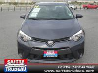 New Inventory!! This tip-top 2016 Toyota Corolla CE