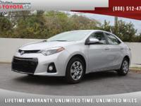 2016 Toyota Corolla S, *** 1 FLORIDA OWNER *** CLEAN