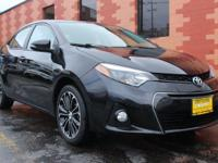 Snag a steal on this 2016 Toyota Corolla S CVT before