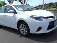 CARFAX 1-Owner, Superb Condition. Super White exterior