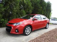 GRAB THE SAVINGS ON THIS CERTIFIED COROLLA S MODEL.