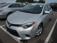 Recent Arrival! 2016 Toyota Corolla LEClean CARFAX.