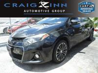 CarFax 1-Owner, This 2016 Toyota Corolla S Plus will