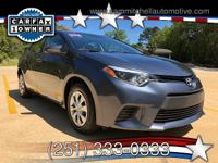 2016 Toyota Corolla. Has only 34000 miles. Fully