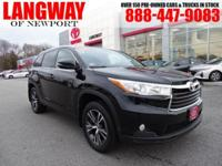 New Price! 2016 Toyota Highlander XLE V6 CARFAX