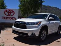 AWD. CARFAX One-Owner. Clean CARFAX. White 2016 Toyota