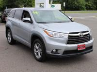 Certified. Silver Sky Metallic 2016 Toyota Highlander