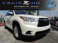 PREMIUM & KEY FEATURES ON THIS 2016 Toyota Highlander