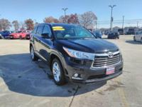 This 2016 Toyota Highlander Limited is offered to you