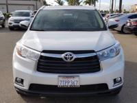 Options:  2016 Toyota Highlander