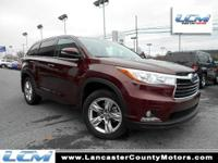 Highlander Limited, Carfax One Owner!, *Local Trade,