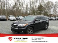 Gas miser! 24 MPG Hwy. This impressive Highlander with