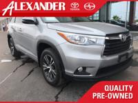 This 2016 Toyota Highlander is offered to you for sale