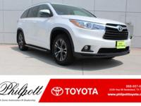 This 2016 Toyota Highlander XLE comes complete