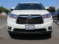 Options:  2016 Toyota Highlander Sport Utility Xle