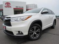 This 2016 Toyota Highlander comes equipped with power