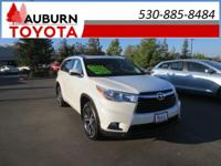 1 OWNER, LOW MILES, 4WD!!  This 2016 Toyota Highlander