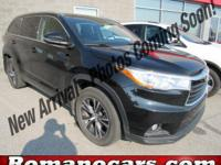Introducing the 2016 Toyota Highlander! With all-wheel