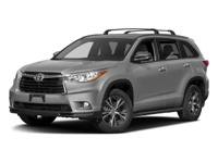 You can expect a lot with the 2016 Toyota Highlander.