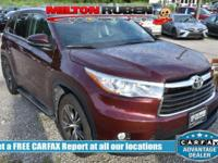 Options:  2016 Toyota Highlander Xle|Miles: 45181Color: