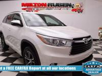 Options:  2016 Toyota Highlander Xle|Miles: 27714Color: