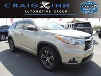 CarFax 1-Owner, LOW MILES, This 2016 Toyota Highlander