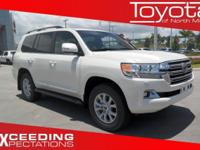 Options:  2016 Toyota Land Cruiser 4Dr 4Wd|White/|V8