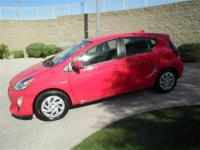 Here's a new Prius C at a pre-owned price! With