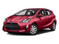 Prius C Persona Series, pass the gas station with 40+