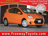 CARFAX One-Owner. 2016 Toyota Prius c Two FWD CVT 1.5L