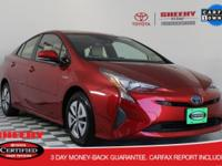 2016 Toyota Prius Four Toyota Certified Used Hybrids