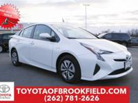 **2016 Toyota Prius Three** CARFAX One-Owner. Blizzard