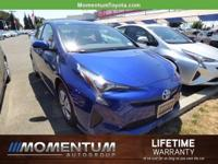 Options:  2016 Toyota Prius 5Dr Hb Three|Blue Crush