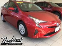 Recent Arrival! 2016 Toyota Prius in Red, Bluetooth,
