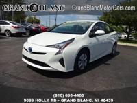 CERTIFIED 2016 PRIUS with LOW MILES! Finance for 1.9%