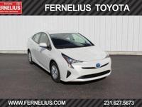 Options:  2016 Toyota Prius Two|White|2016 Toyota Prius