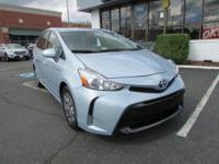 2016 Toyota Prius v Three In Clear Sky Metallic *