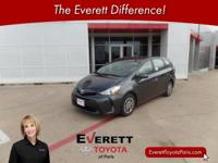 2016 Toyota Prius v Four Magnetic Gray 1.8L 4-Cylinder