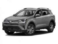 Boasts 29 Highway MPG and 22 City MPG! This Toyota RAV4